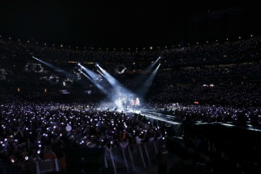 BTS Excites London on European Leg of World Tour