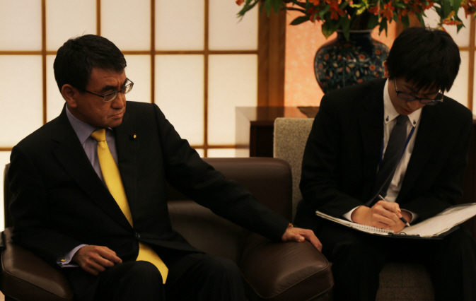 Japanese Foreign Minister Says Compensation Matter Already Concluded