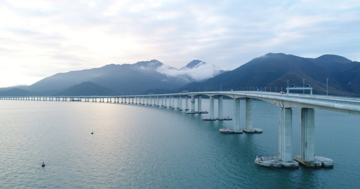 The Hong Kong-Zhuhai-Macao Bridge (Hong Kong Link section). (image: Hong Kong Tourism Board)