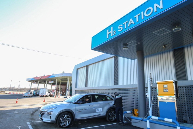 Hydrogen Coming to Green Belt LNG Stations