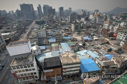 An aerial view of Euljiro, Seoul. (image: Jung Ward Office)