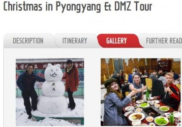 Chinese Agency Sells Christmas Tour Programs to Pyongyang