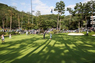 Number of S. Korean Golfers Estimated at 6.36 mln, Only Half Have Field Experience