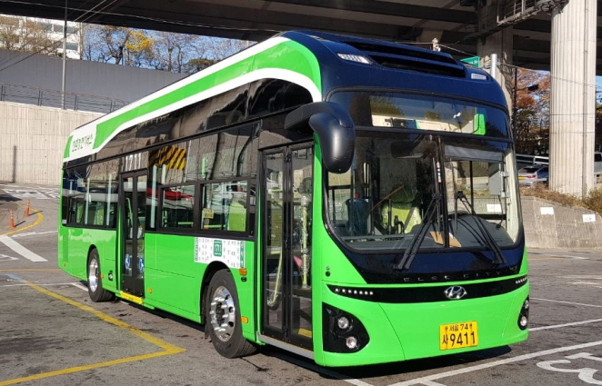 Seoul Introduces Electric Bus
