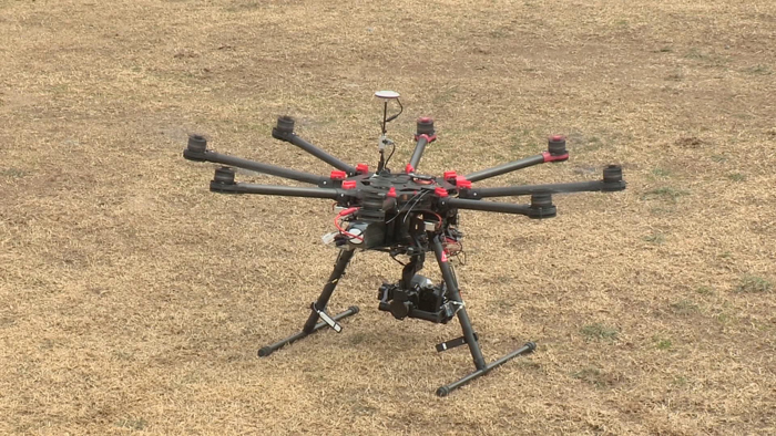 Firefighter Drones to be Available from Thurs.
