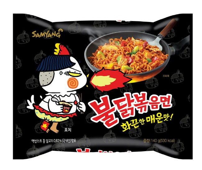 Copycat Products Ensue After Success of Spicy Chicken Ramen
