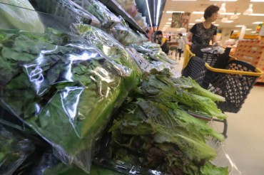 South Korean Romaine Confirmed Safe amid E. coli Outbreak in the U.S.