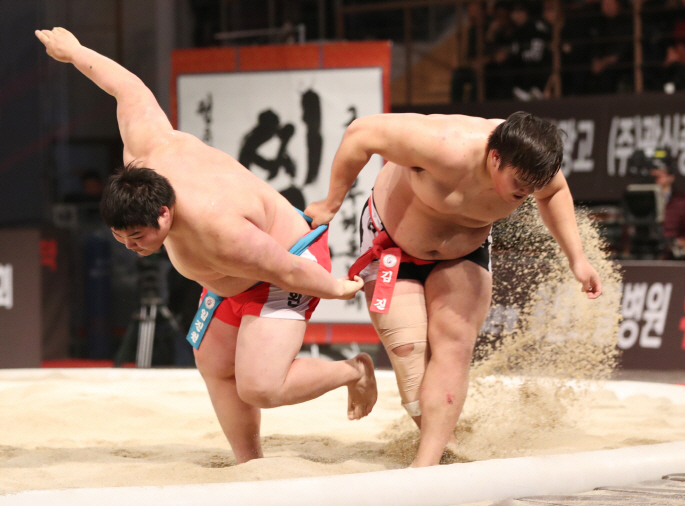 Two Koreas Jointly List Traditional Wrestling as UNESCO Heritage