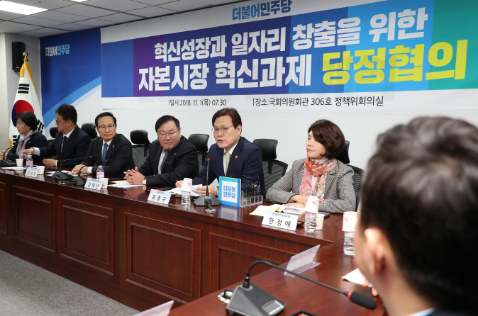 S. Korea Seeks to Loosen Regulations to Rev Up Capital Market