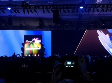 Samsung Unveils Upcoming Foldable Smartphone