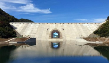 World's Largest Anamorphic Artwork Painted on Peace Dam