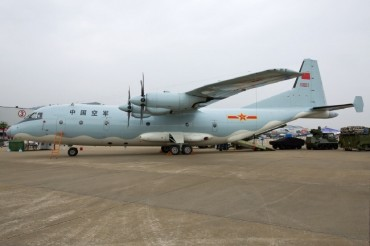 Chinese Military Aircraft Trespasses into Korean Airspace Again
