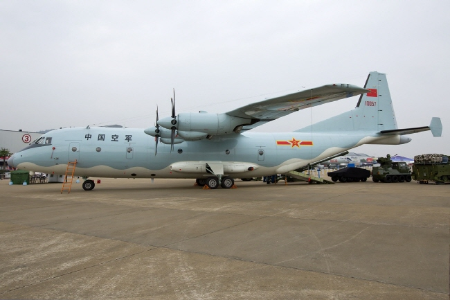 The Y-9, a Chinese tactical transport aircraft. (image: Public Domain)