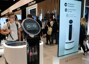LG to Develop Smart Shopping Cart Robot with E-mart