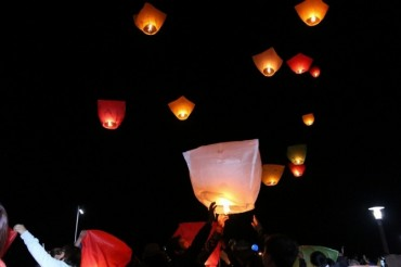 Sky Lanterns Becoming a Fire Hazard