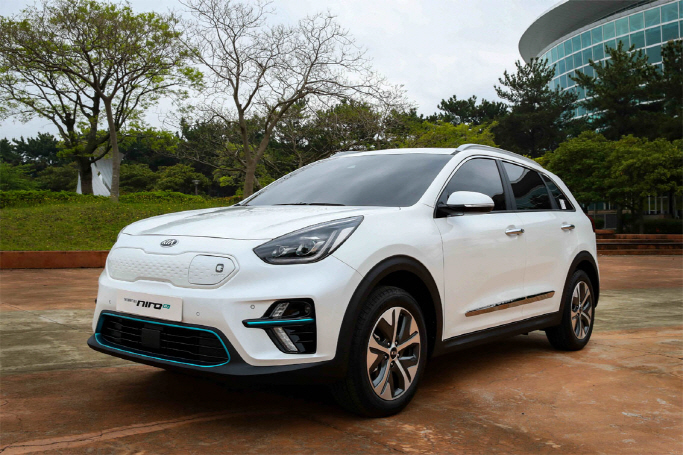 Kia Motors' Niro electric vehicle. (image: Kia Motors)