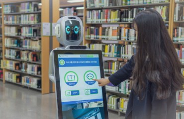 Sungkyunkwan University AI Robot Offers Academic Information to Students