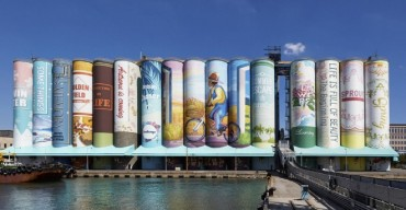Outdoor Mural on S. Korean Silo Recognized by Guinness as World's Largest