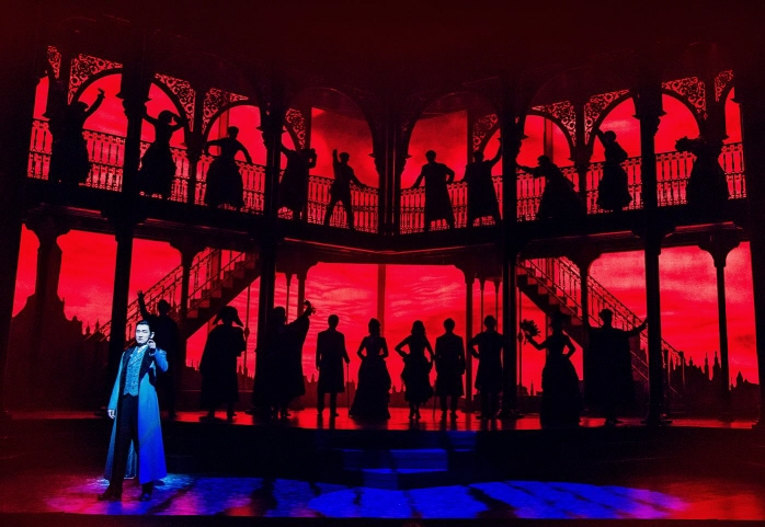 A performance of the musical Jekyll & Hyde. (image: OD Company)