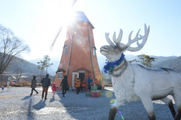 Santa Village Opens in N. Gyeongsang Province