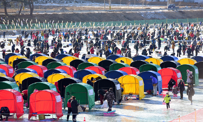 Pyeongchang Trout Festival Kicks Off December 22