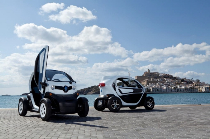 Renault's Twizy ultracompact electric car. (Yonhap)