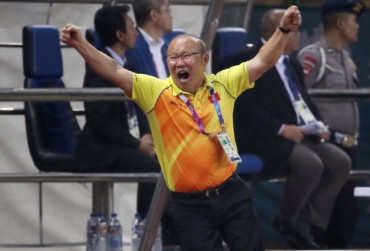 S. Korean Head Coach Chosen as 'Man of the Year' by Vietnam's State Television