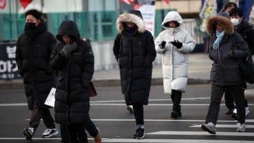 South Korea Hit by This Winter's Strongest Cold Wave