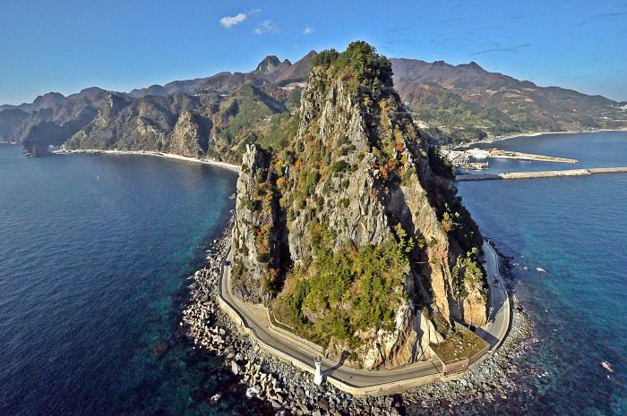 Ulleung Island. (image: North Gyeongsang Provincial Office)