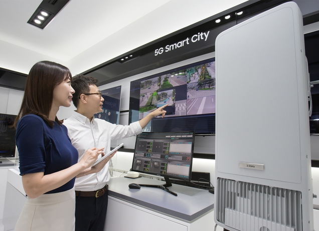 Samsung's 5G Connectivity Node. (image: Samsung Electronics Co.)