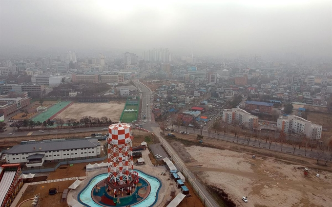 Chuncheon Plans 'Fine Dust Blocking Forest' for Disused Military Base