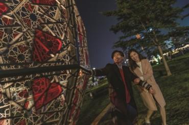"""International Light Art Display"" Showcases New Installations"