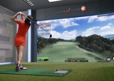'Screen Golf' Expands Scope of Teeing Up in S. Korea