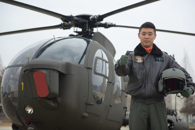 Warrant Officer Oh Ji-sung. (image: ROK Army)