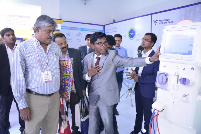 The launch of 4008A in India generated good feedback from healthcare professionals at the Annual Conference of Indian Society of Nephrology last month. (image: Fresenius Medical Care Asia-Pacific Limited)