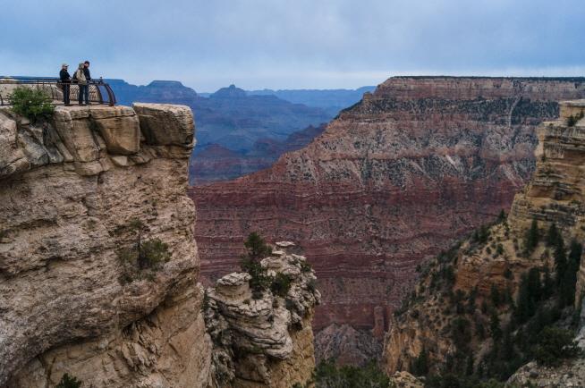 Grand Canyon National Park in Arizona, U.S. (image: Public Domain)