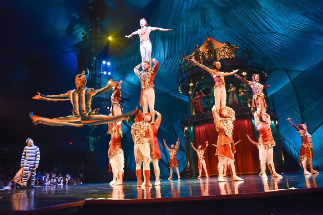 KOOZA by Cirque du Soleil. (image: Mast Entertainment)
