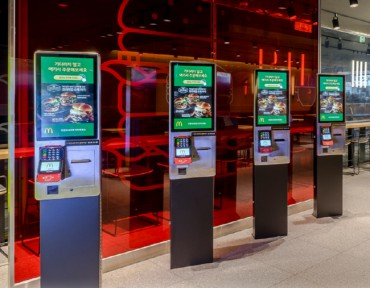 60 pct of McDonald's, Lotteria Have Kiosks