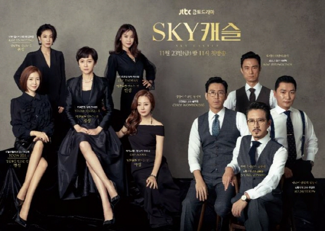 'SKY Castle' created much speculation among viewers each time with unpredictable developments. (image: JTBC)