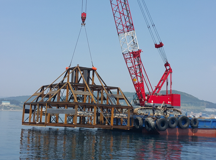 Busan Continues Installation of Artificial Reefs to Restore Marine Ecosystem