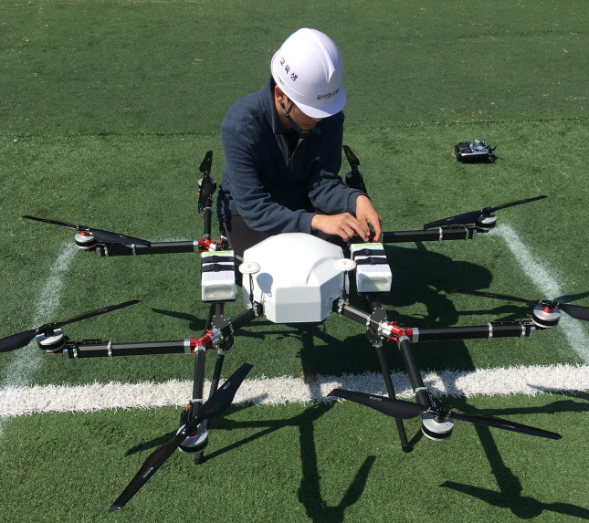 Ulsan metropolitan government will develop multipurpose drone technology for customs surveillance, environmental and maritime monitoring to generate new service demand. (image: Ulsan College)
