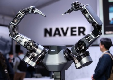 LG Electronics, Naver Team Up for Robot Technology