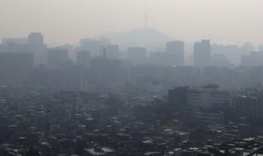 Fine Dust Blankets S. Korea