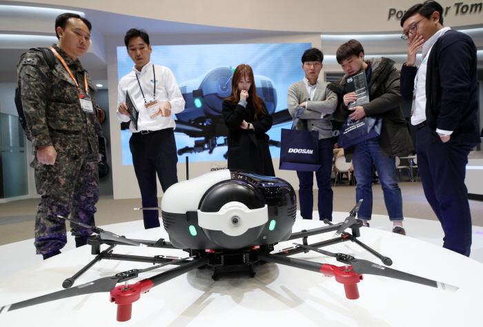 Drone Show Korea 2019 Kicks Off in Busan