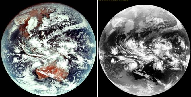 S  Korea's Indigenous Weather Satellite Shoots First Image