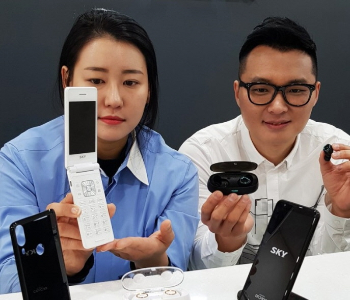 Good Mobile, a small smartphone distributor, signed an agreement with Pantech to gain exclusive use of the SKY brand for five years. (image: Good Mobile)