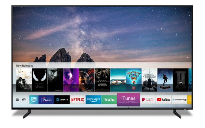 Samsung and Apple Team Up to Provide Apple Services on Samsung TV