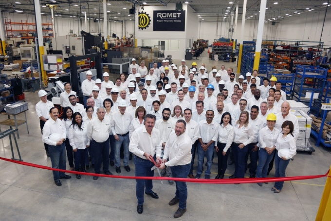 Romet Relocation Supports Global Expansion