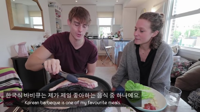 Englishman's YouTube Channel on Korean Food Gains Increasing Popularity