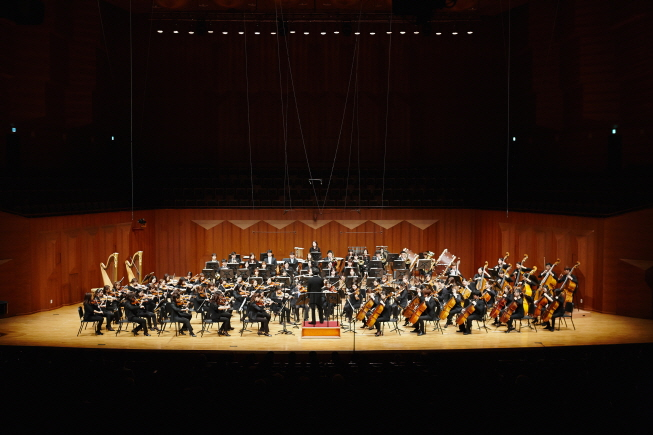An orchestra concert in South Korea. (image: Seoul Arts Center)
